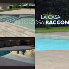 Piscinas de jardín de estilo  por Alessandra Vellata Architetto