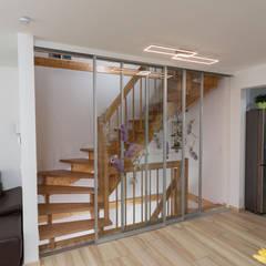 Puertas interiores de estilo  por ASADA Schiebetüren und Möbel nach Maß - Ulrich Schablowsky