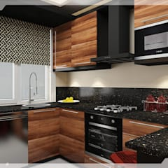 Small kitchens by PRATIKIZ MIMARLIK/ ARCHITECTURE,