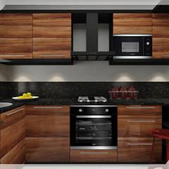PRATIKIZ MIMARLIK/ ARCHITECTURE – Mutfak:  tarz Küçük Mutfak, Modern