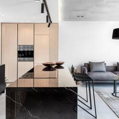 152 Waterkant :  Kitchen by GSQUARED architects, Minimalist