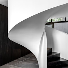 SM 37 :  Stairs by GSQUARED architects, Minimalist