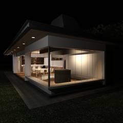 Quincho EO: Terrazas  de estilo  por MRH Arquitectos