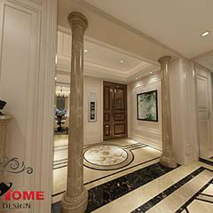 شقة سكنية :  غرفة المعيشة تنفيذ smarthome
