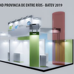 صالات عرض تنفيذ Faerman Stands y Asoc S.R.L. - Arquitectos - Rosario