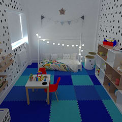 Baby room by Vanessa Milanez Interiores