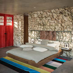 Bedroom by PERCEPTO ARQUITECTURA, Tropical