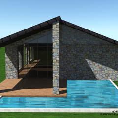 Country house by SKY İç Mimarlık & Mimarlık Tasarım Stüdyosu, Mediterranean