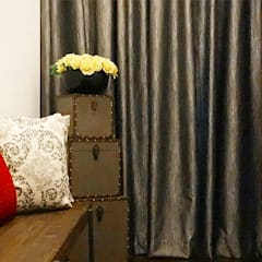 Dressing room by SNS Lush Designs and Home Decor Consultancy, Asian
