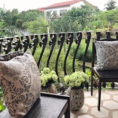 Balcony by SNS Lush Designs and Home Decor Consultancy