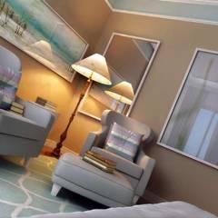 VERO CONCEPT MİMARLIK – Yunus Emre  Villa - İsveç:  tarz Yatak Odası