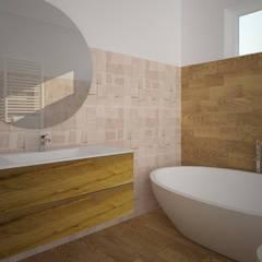 Baños de estilo  por B+P architetti, Moderno