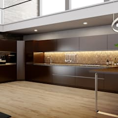 Luxury kitchens that outclasses all other kitchens you've seen by Küche7 Modern