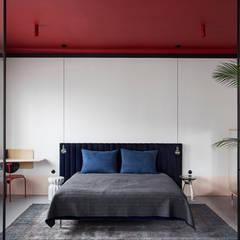 The Red Ceiling # 6: styl , w kategorii Sypialnia zaprojektowany przez Studio Laas