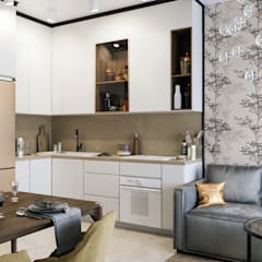 Built-in kitchens by Zibellino.Design, Eclectic