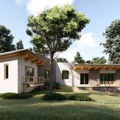 Log cabin by N+A arquitectos