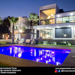 Garden Pool by Excelencia en Diseño