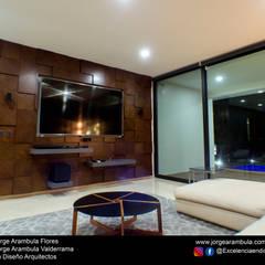 家庭劇院 by Excelencia en Diseño