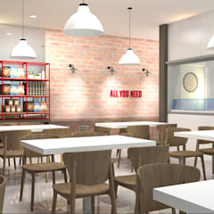 Filipino Modern Restaurant:  Commercial Spaces by CIANO DESIGN CONCEPTS, Modern