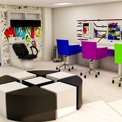 : Espacios comerciales de estilo  por Sixty9 3D Design