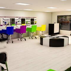 : Espacios comerciales de estilo  por Sixty9 3D Design, Moderno