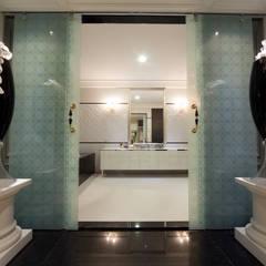 首善莊公館:  浴室 by 雅群空間設計