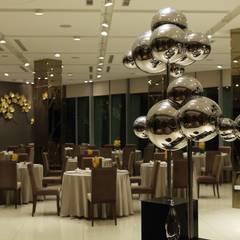 願景軒:  餐廳 by 雅群空間設計,