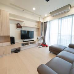 اتاق نشیمن توسط藏私系統傢俱, اسکاندیناویایی