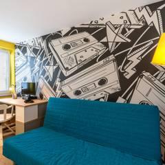 Metamorfoza mieszkania: styl , w kategorii Pokój dziecięcy zaprojektowany przez Perfect Space
