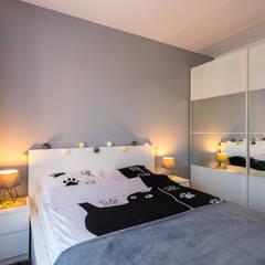 Siedliskowe klimaty: styl , w kategorii Sypialnia zaprojektowany przez Perfect Space,