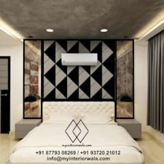 Small bedroom by My Interiorwala