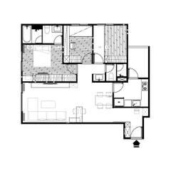 Multi-Family house توسط木博士團隊/動念室內設計制作, مدرن