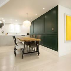 대전 어은동 한빛아파트 51평-거실, 주방: 디자인 헤세드의  주방,