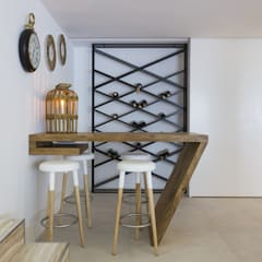 Scandinavian style wine cellar by Angelourenzzo - Interior Design Scandinavian