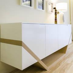 Open Space Paredes de Coura Salas de jantar escandinavas por Angelourenzzo - Interior Design Escandinavo