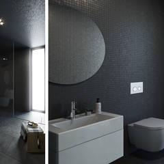 Casa NA - Lousa, Loures: Casas de banho  por FMO ARCHITECTURE,