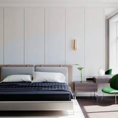 İçmimar Ümit Akyıldız – Otel Tasarımları:  tarz Yatak Odası,