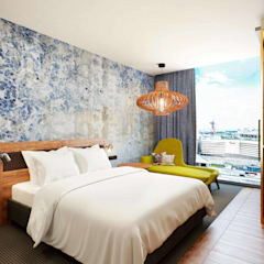 İçmimar Ümit Akyıldız – Otel Tasarımları:  tarz Yatak Odası