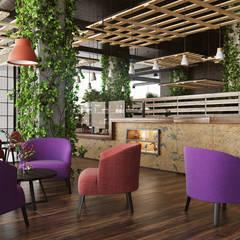 İçmimar Ümit Akyıldız – Otel Tasarımları:  tarz Yemek Odası