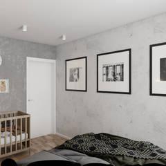 Petites chambres de style  par TOL architects