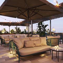 Balcony, Terrace, Veranda:  Terrace by SLA Sdn Bhd, Modern