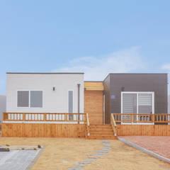공간제작소 10py 형 대 모듈러주택: 공간제작소(주)의  목조 주택