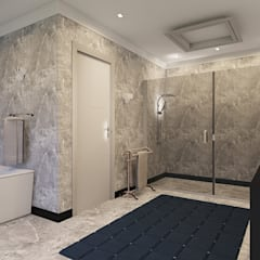 Sandton Penthouse Interior Design & Architecture:  Bathroom by CKW Lifestyle