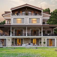 ANTE MİMARLIK  – Ş. Öner villa:  tarz Evler, Modern