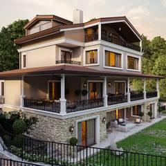 ANTE MİMARLIK  – Ş. Öner villa:  tarz Villa