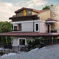 ANTE MİMARLIK  – Ş. Öner villa:  tarz Villa, Modern