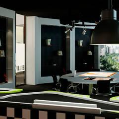 Rehabilitación de oficinas en Alicante: Oficinas y Tiendas de estilo  de Tono Lledó Interioristas S.L.