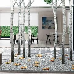 Interiorismo y amueblamiento para casa en Alicante Jardines de invierno de estilo moderno de Tono Lledó Estudio de Interiorismo en Alicante Moderno