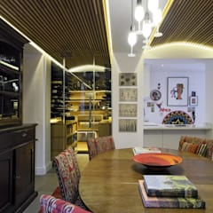 Wine cellar by KMMA architects