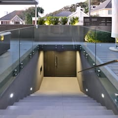 House Drelingcourt Fresnaye:  Stairs by KMMA architects, Modern